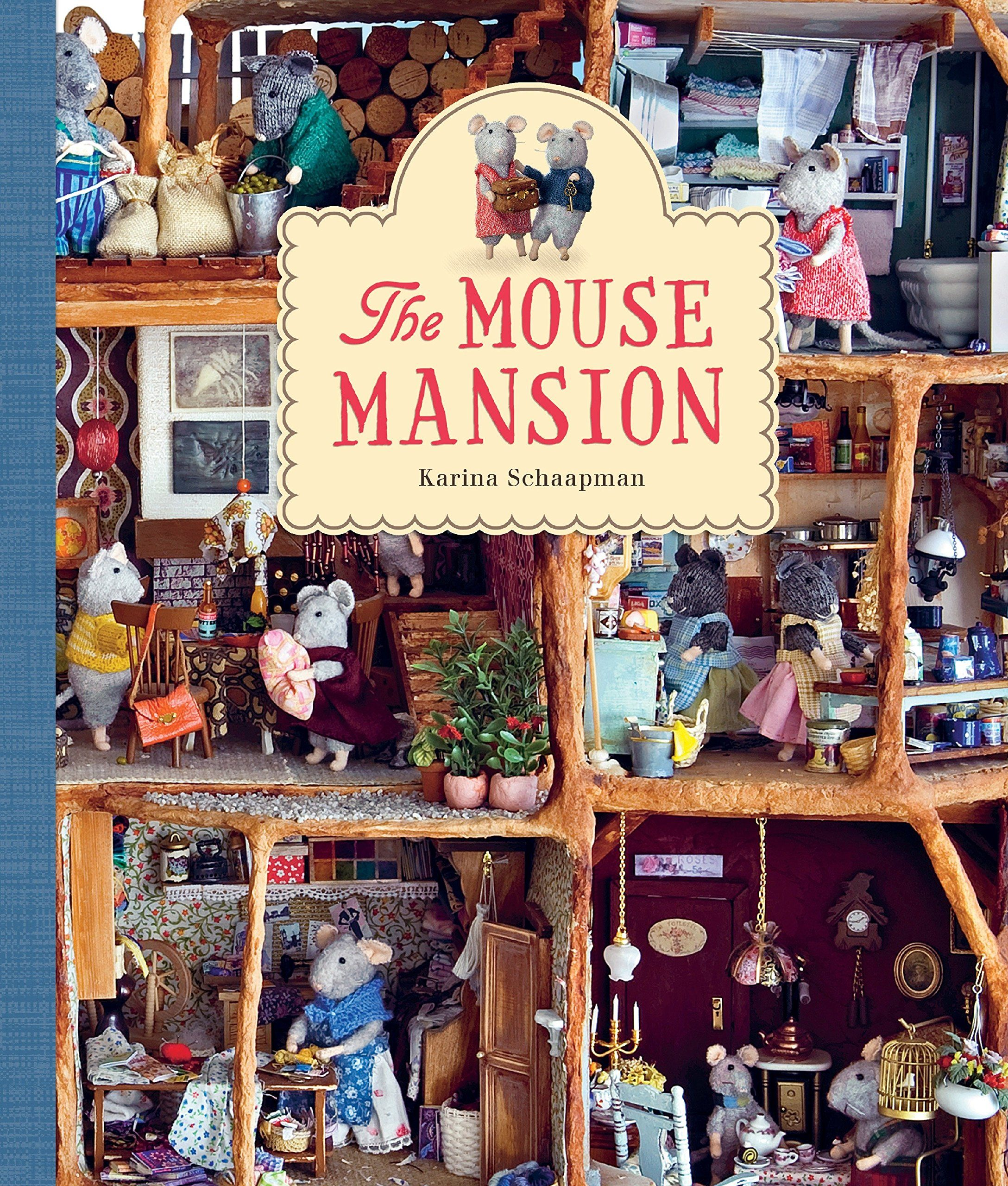 The mouse mansion book